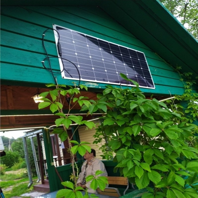 The lowest profit to sell monocrystalline silicon 100 watts solar panels new 100w photovoltaic solar panel