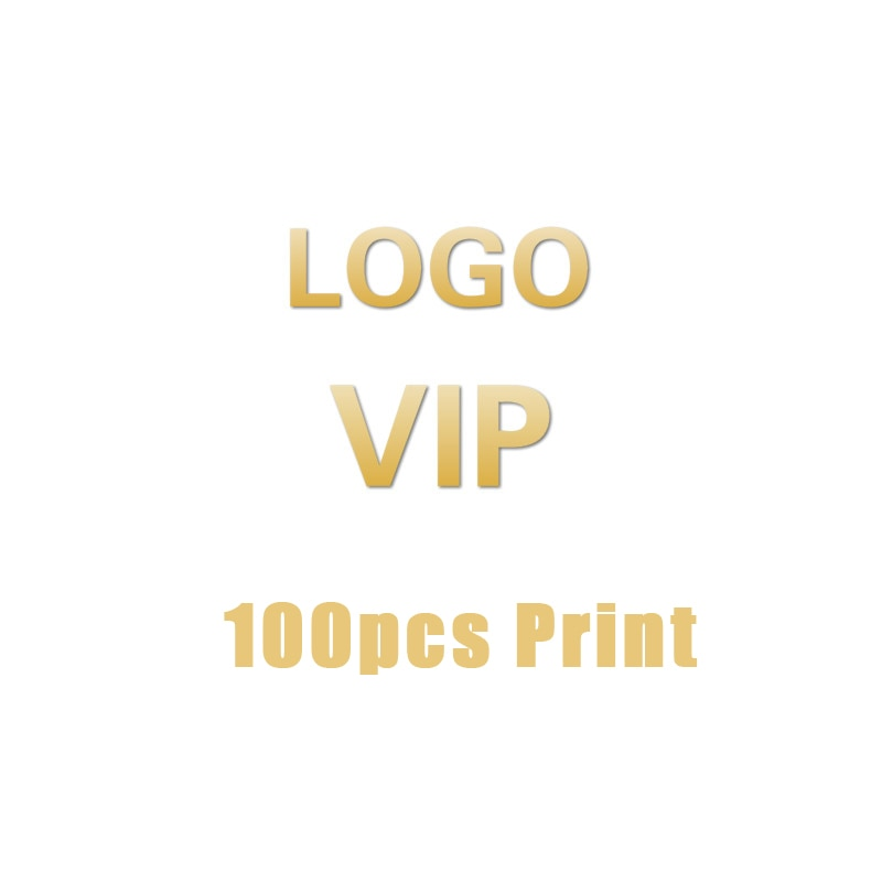 الذين كتي VIP شعار صنع رسوم الخدمة 100 قطعة