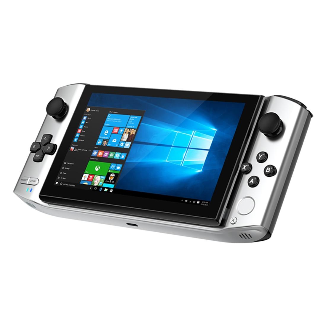 GPD WIN3 وحدة تحكم بجهاز لعب محمول اللاعبين كمبيوتر لوحي صغير محمول ألعاب كمبيوتر لاعب مع Rockers-الفضة الأسود الراقية الإصدار