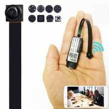 1080P Webcam Portable Mini WiFi HD Camera Night Vision Remote Montioring Wireless Micro Video Web Cam Support SD/TF Card For PC
