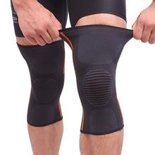 1 Pair Sports Safety Football Kneepad Basketball Knee Pads Sport Accessorie Elastic Knee Protector K