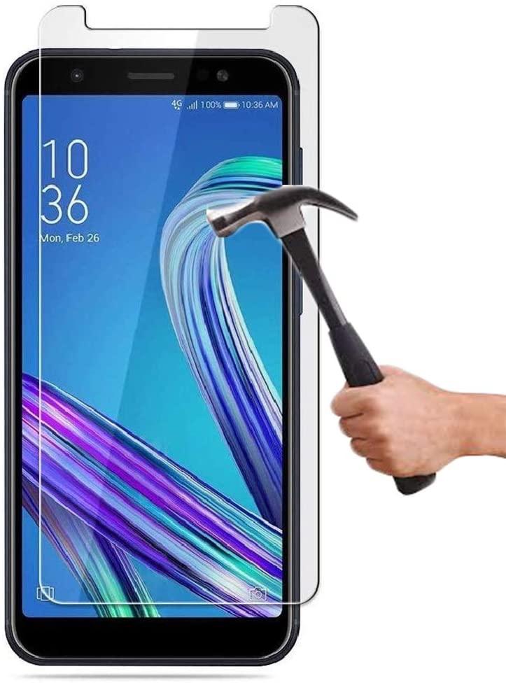 Cristal templado Asus Zenfone Max M1 ZB555KL Protector de pantalla cristal transparente...