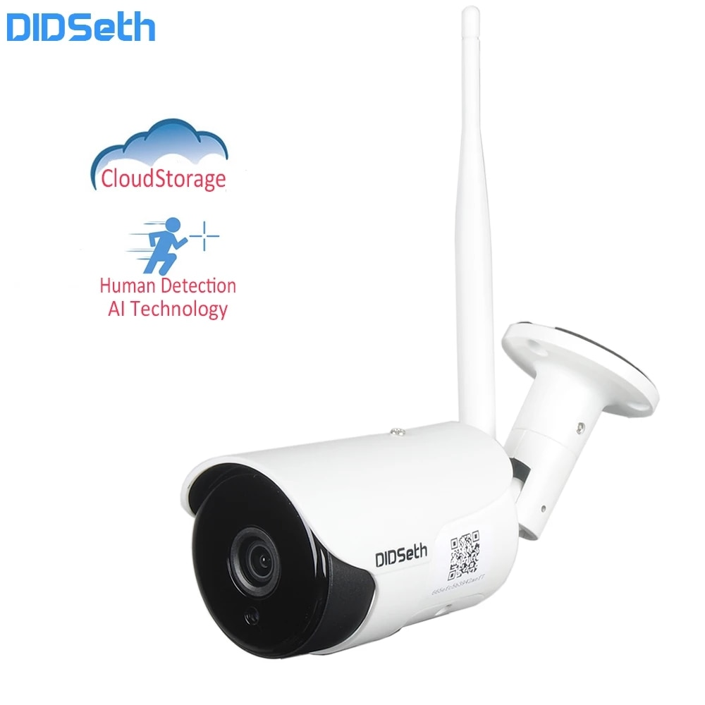 DIDseth Full HD Wifi AI cámara IP al aire libre 1080P seguridad...
