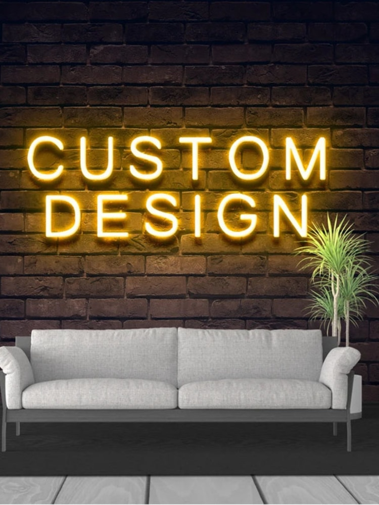 Customized led neon lights, happy birthday posters, decorative wall lights for parties, weddings, stores,windows and restaurants enlarge