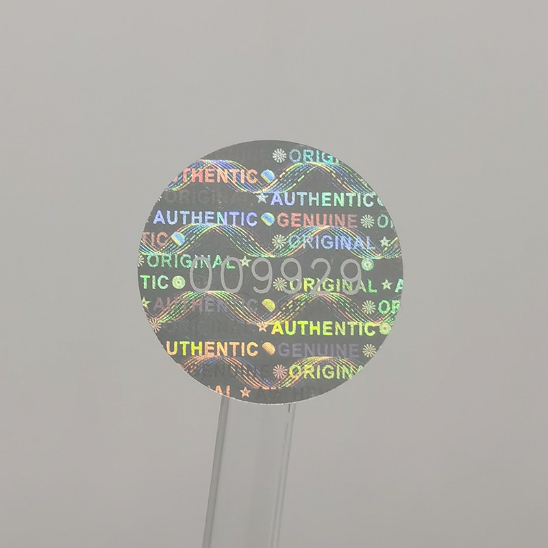"AliExpress - 1000pcs 20mm Round,Holographic Tamper-Proof Security Label, ""Void"" Warranty Sealing Genuine Laser Sticker, Unique Number"
