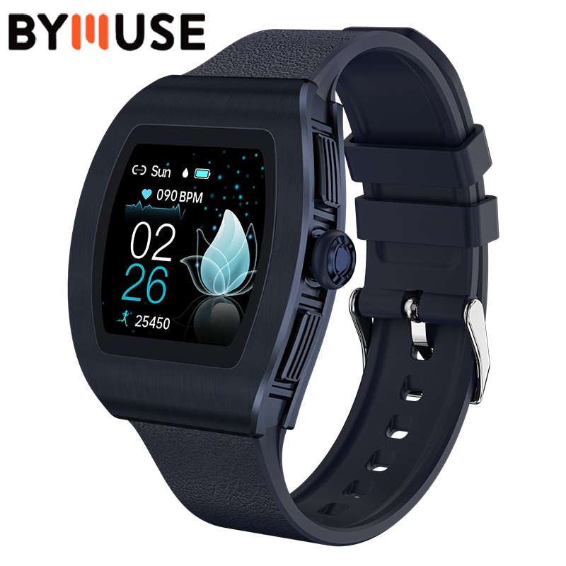 BYMUSE M13 Smart Watch Couple Watches Pair Women Waterproof IP68 Heart Rate Watch GPS Running Sport
