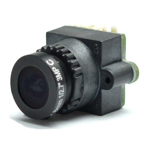 ABKT-FPV Mini Digital Video Camera FPV-1000TVL 1000 TVL Line 2.8mm NTSC PAL Camera lens Seat for Aerial Photography N/P Pattern
