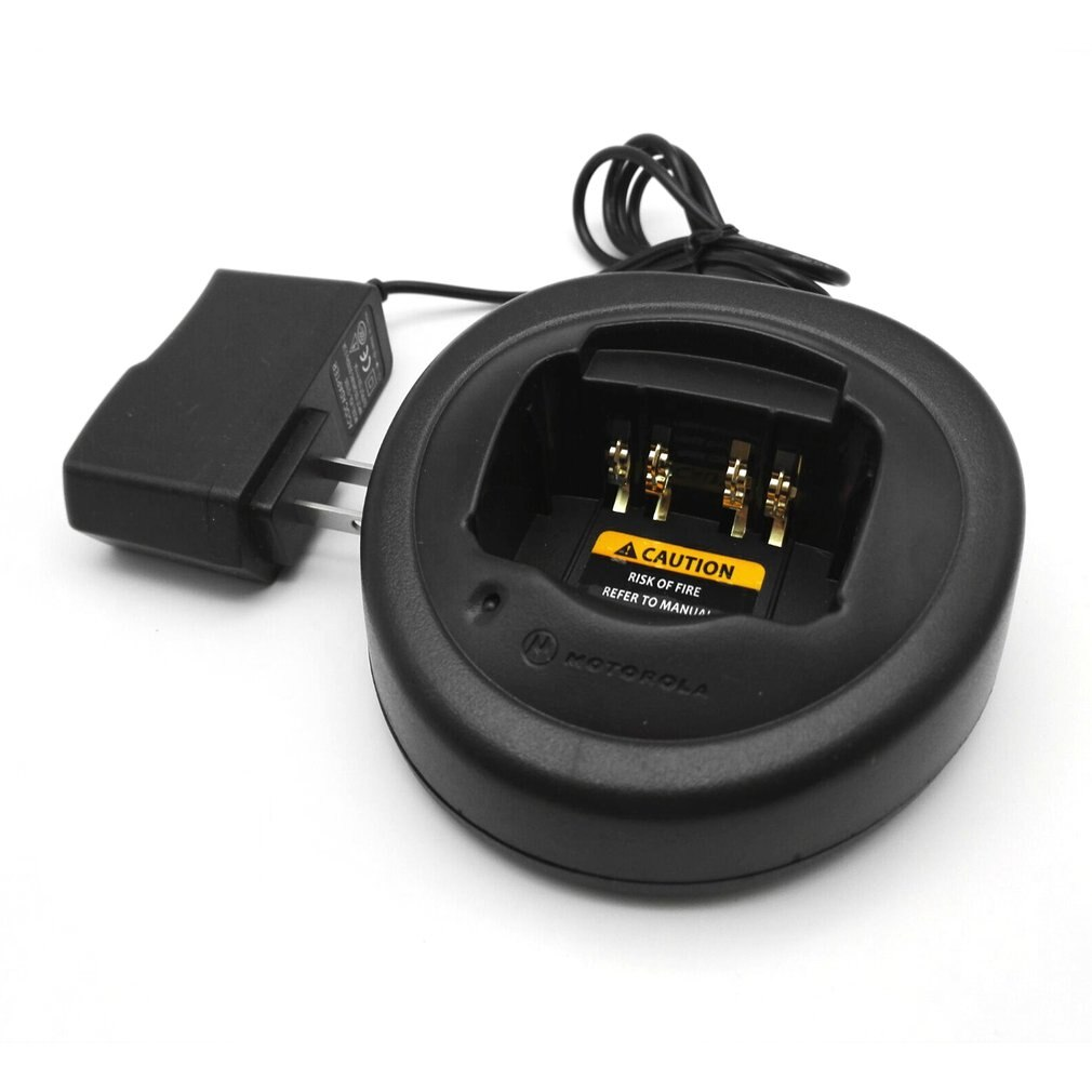 Carregador de mesa Doca de Carregamento Berço Carregador Adaptador para Motorola Walkie Talkie Rádio GP328 GP338 PTX-760 GP340 Dropshipping
