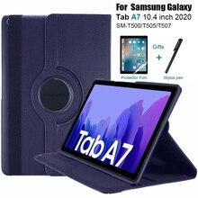 Pour Samsung Galaxy Tab A7 10.4 (2020) étui 360 support couverture pour Samsung Galaxy Tab A7 10.4 pouces SM-T500 SM-T505 SM-T507 T500 T505
