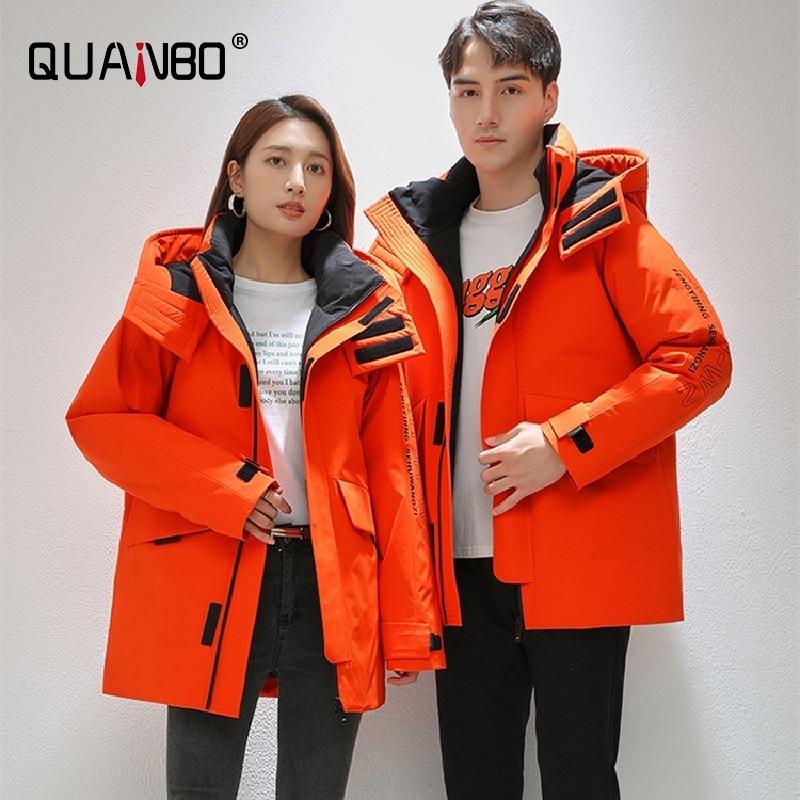 Top Grade Winter Designer Brand Long Casual Fashion Parka Jacket Men Women  Windbreaker Outerwear Thicken Heavy Coats Clothes