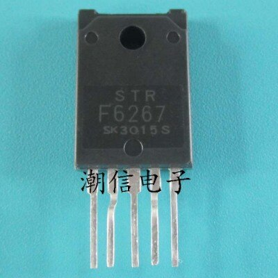 1pcs/lot STRF6267 STR-F6267  In Stock
