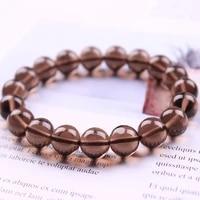 6a tea crystal obsidian couple bracelet brings lucky wealth feng shui gift