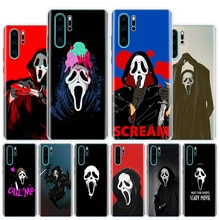 Ghostface Crier Téléphone étui pour huawei Honor 10 9 Lite 8A 8X 8S 7A 7X 9X 20i Pro Y5 Y6 Y7 Y9 2019 V20 V30 Housse Coque