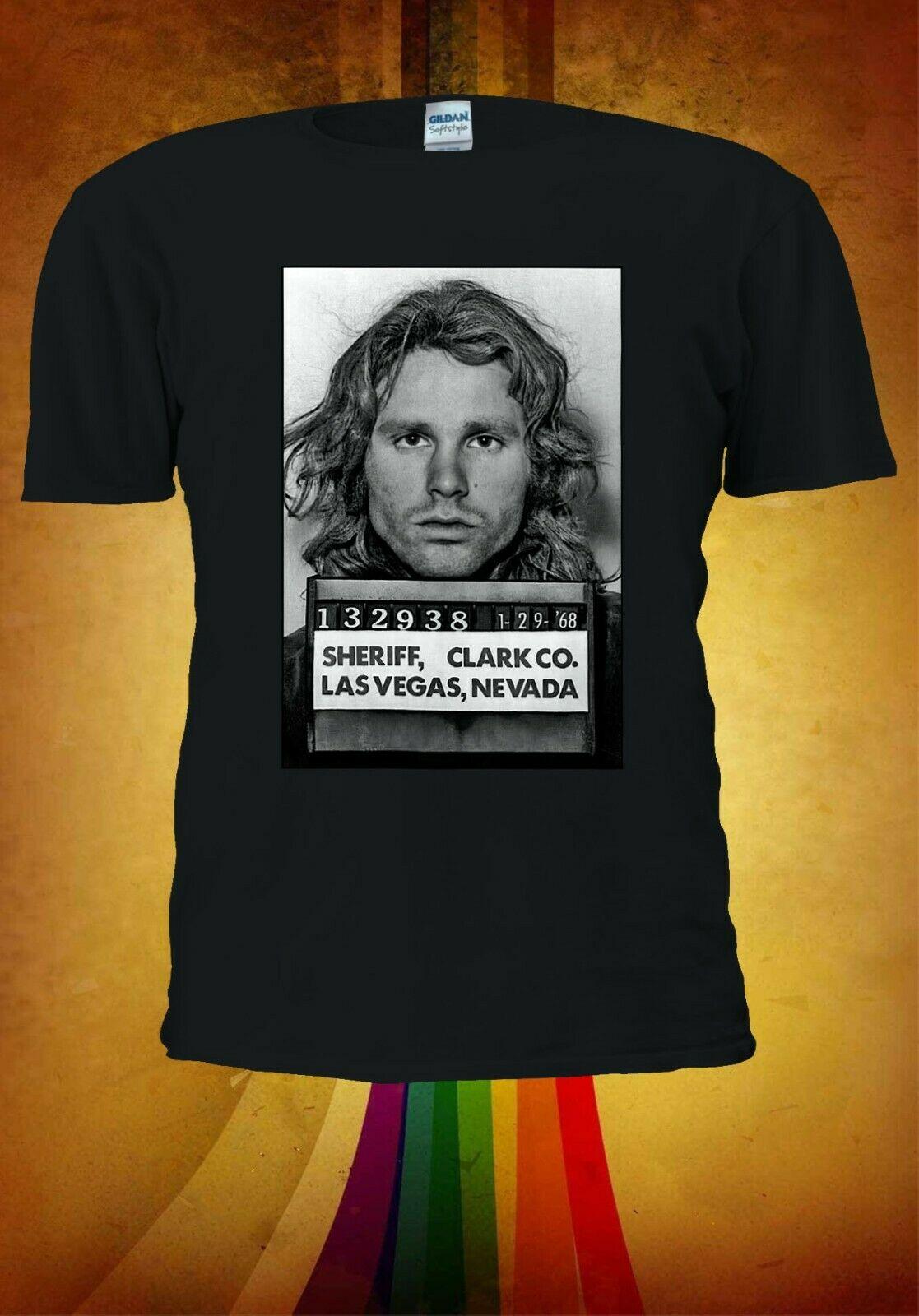Jim Morrison Mugshot hombres mujeres Unisex camiseta chaleco béisbol Hoodie 3312