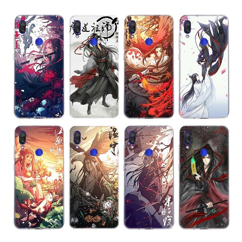 Fundas de teléfono MO DAO ZU SHI, funda de sílice para Xiaomi Note 10 9 8 lite A3 5X 6X CC9 CC9E 9SE 8SE 9T, funda pocofone F1