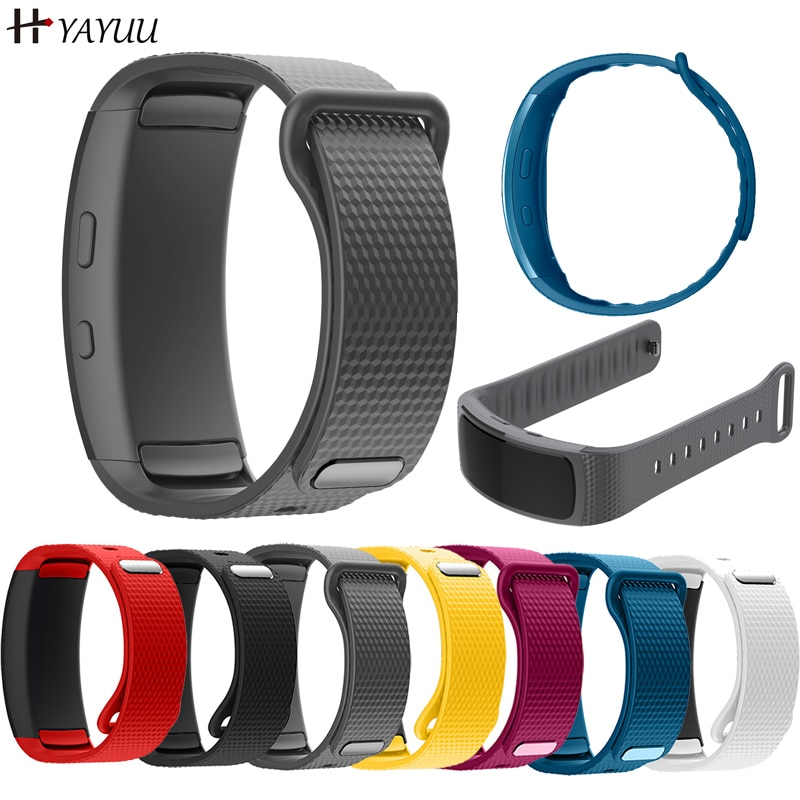 YAYUU Silicone Watch Band For Samsung Gear Fit 2 Pro fitness Replacement Wrist Strap For Samsung Gea