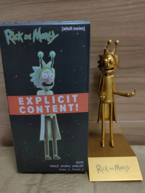 Hot Anime Figure Rick Morty Collection Action Figure Toys Grandpa Rick Room Decoration Gifts for Kids Children Toys 4