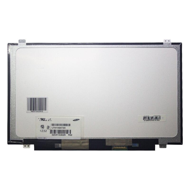 LTN140AT20 ajuste LTN140AT28 N140B6-L06 B140XW03 V.0 LTN140AT11 slim 40 pin