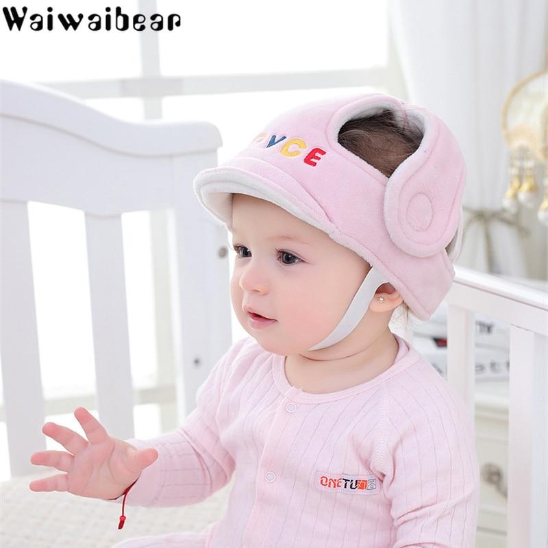 Sombreros de protección para la cabeza para niños, casco ajustable para bebé, almohada protectora, tapón cojín Protector para la cabeza para niños aprendiendo a caminar