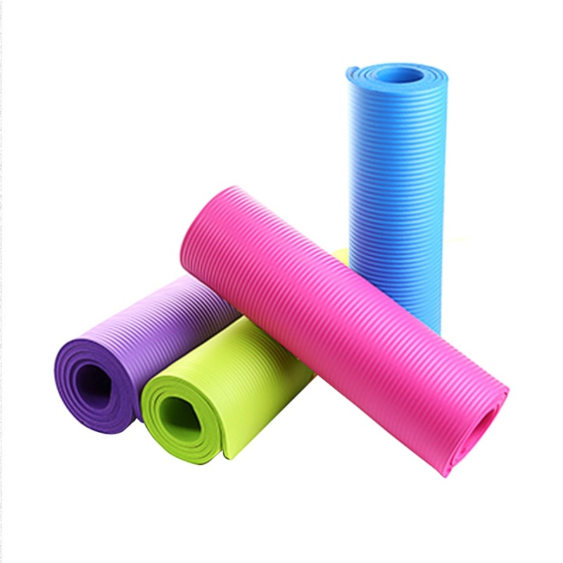 4MM Yoga Mat Exercise Pad Thick Non-slip Folding Gym Fitness Mat Pilate Supplies Non-skid Floor Play Mat