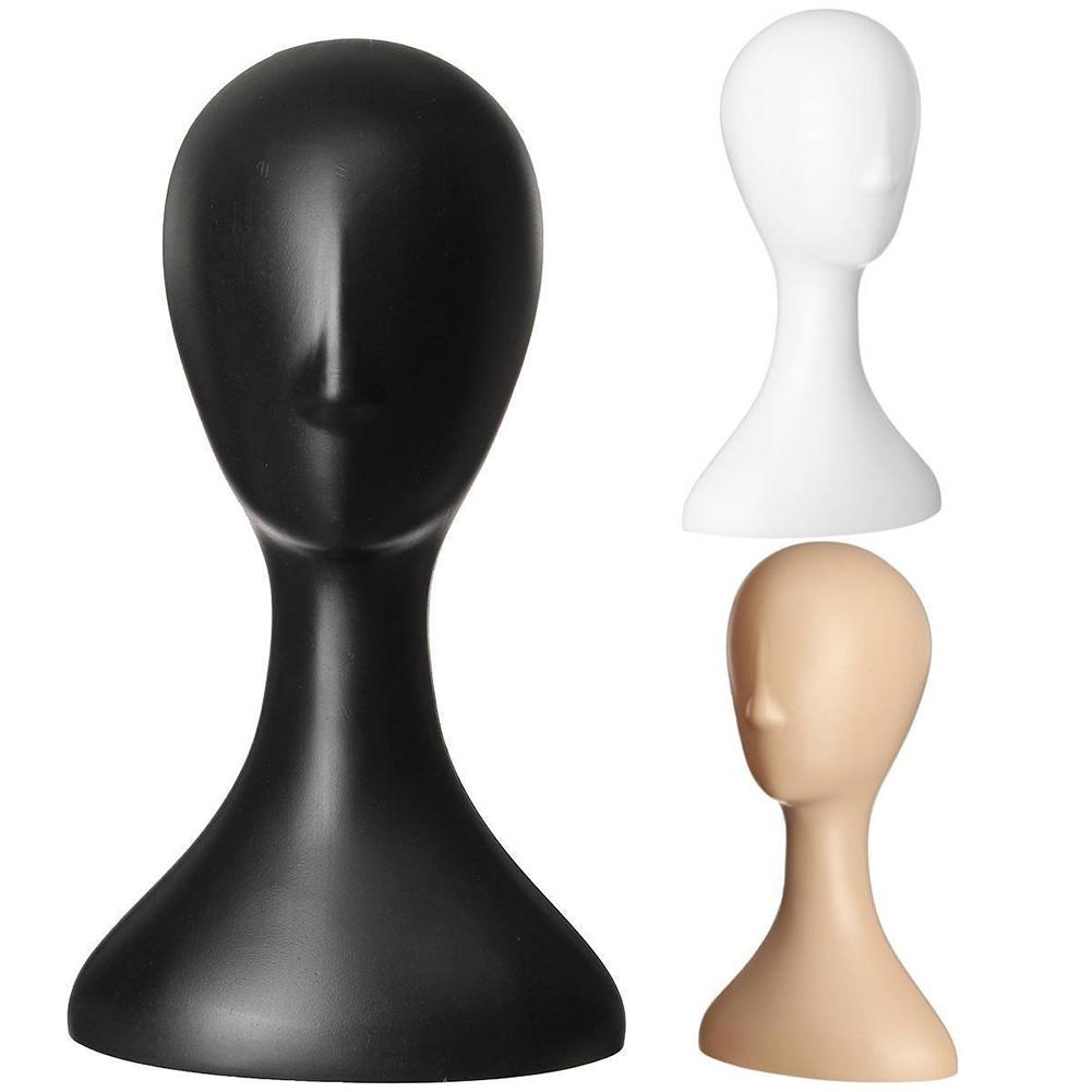 aliexpress.com - Pro Female Plastic Abstract Mannequin Manikin Head Model Wig Hair Display Stand