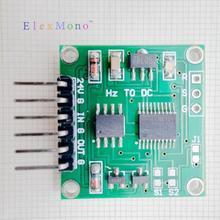 0-10Khz إلى 0-5 فولت 10 فولت التردد إلى الجهد محول إشارات وحدة محول خطي
