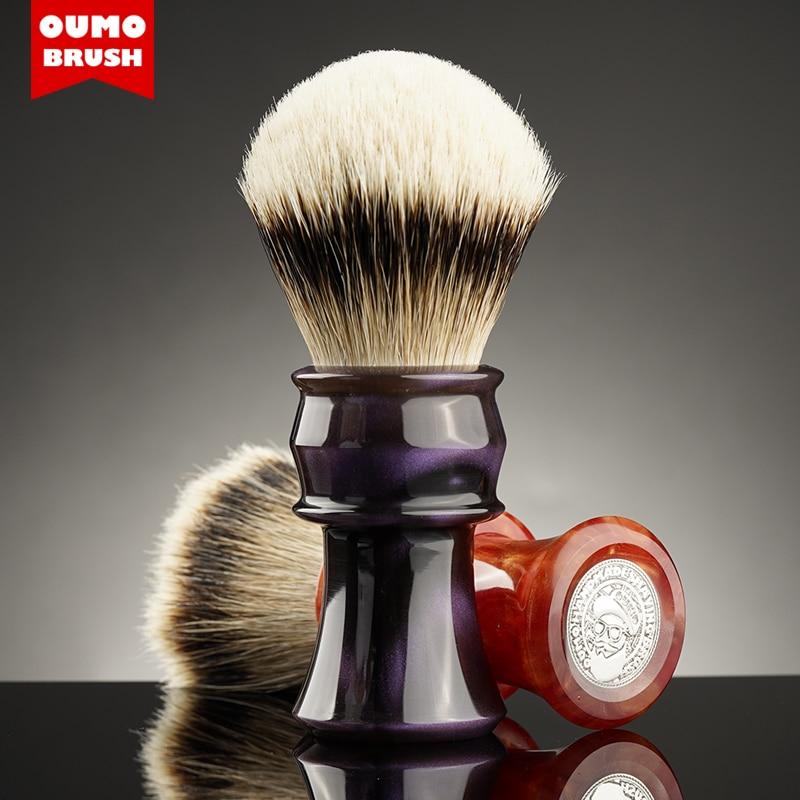 OUMO BRUSH - OUMO classic big hand  Min-Yue shaving brush with Manchuria/ACE/SILK/HOOK/WT