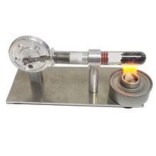 Hot XD-Mini Stirling Engine Mini Generator External Turbine Steam Engine Model Science Education Supplies