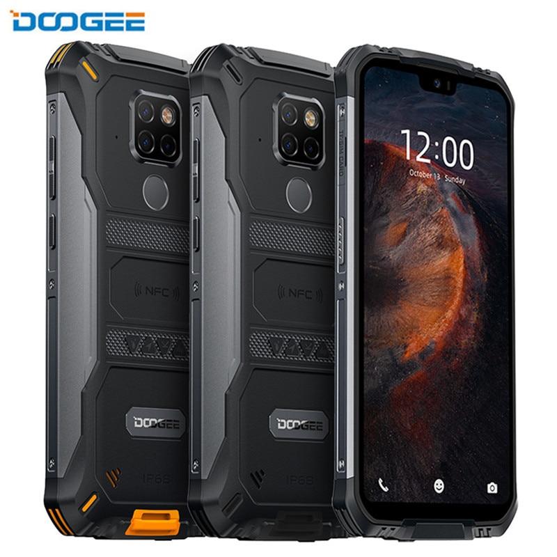 Перейти на Алиэкспресс и купить Смартфон DOOGEE S68 Pro на Android 5,84, экран 9,0 дюйма, 6 ГБ + 128 ГБ