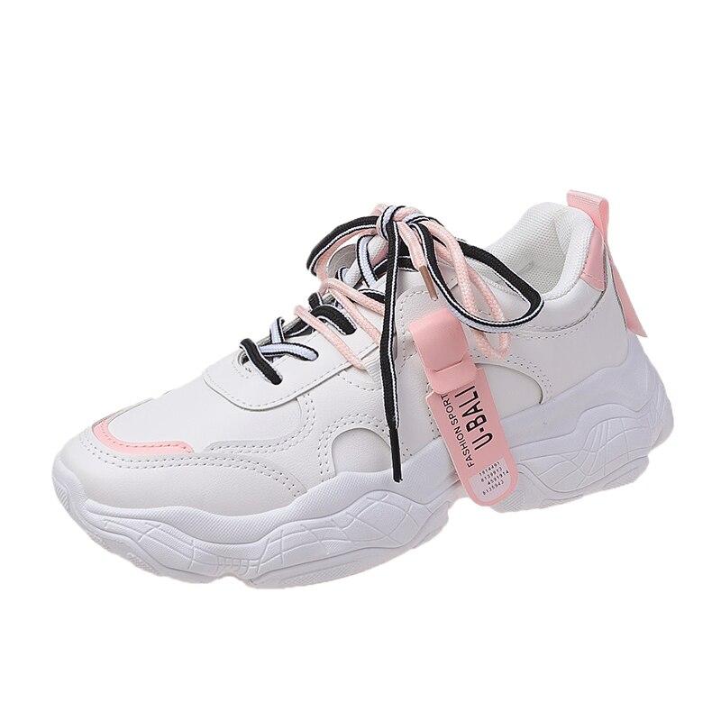 Женские кроссовки, модная Повседневная дышащая Спортивная обувь из сетчатого материала, беговые кроссовки, женские кроссовки на толстой по...