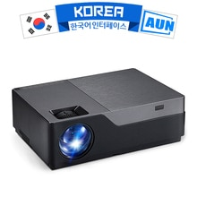 AUN Full HD 1080P проектор M18UP, 5500 люмен, Android 8,0 WIFI Bluetooth видео проектор для 4K домашнего кинотеатра (опционально M18 AC3)