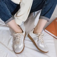 women sneaker woman vulcanzied ladies lace up retro flats female ladies round toe white shoes womens soft comfortable footwear