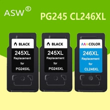 3Pcs PG245 CL246 Tinte Patronen ersatz für Canon PG 245XL 245XL CL 246XL für Pixma iP2820 MX492 MG2924 MX492 MG2520 drucker