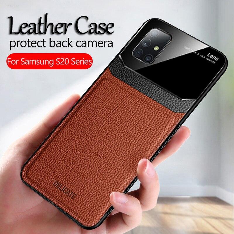 Leather phone case For samsung galaxy a51 Case Cover samsun a51 a50 2019 a 51 50 a515F SM-A515F/ds Matte Bumper Silicone coque