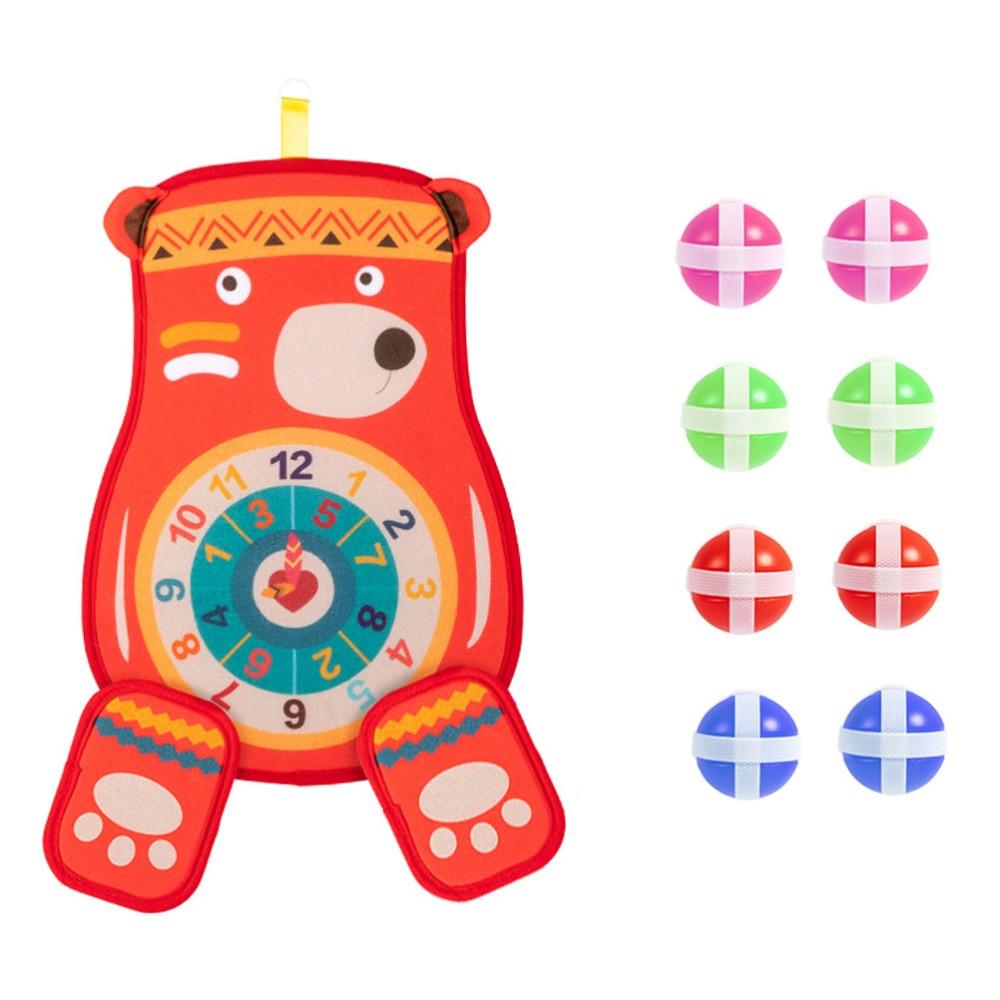 1 conjunto engraçado garoto dardo placa alvo pegajoso playthings (cor aleatória)