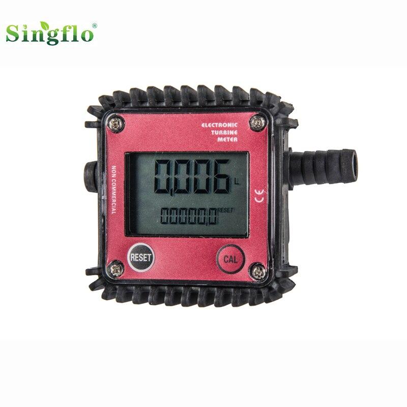 Купить с кэшбэком Singflo digital water flow meter/diesel flow meter/gas flow meter for chemical & liquid Urea