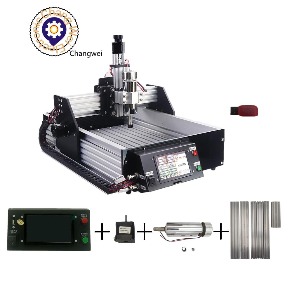 CNC 2030-آلة نقش cnc ، آلة طحن Pcb ، وحدة تحكم غير متصلة بالإنترنت ، حفارة صغيرة CNC2030