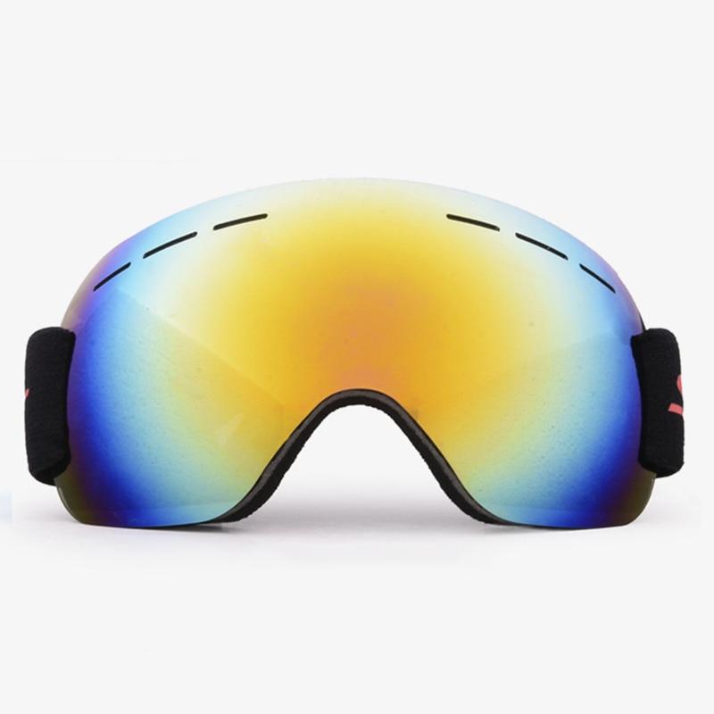Unisex Ski Goggles Snowboard Skiing Eyewear Anti-UV Big Mask Winter Outdoor Sports Protection Glasses Anti-fog Snow