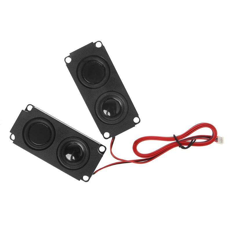 1 par de nuevos altavoces de Audio 1045 altavoz de sonido LCD TV altavoces 8 Ohm 5W portátil