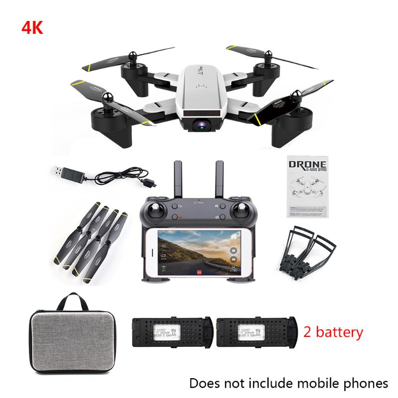 SG700-D 4K زاوية واسعة بدون طيار مع كاميرا لتحديد المواقع للطي FPV أجهزة الاستقبال عن بعد