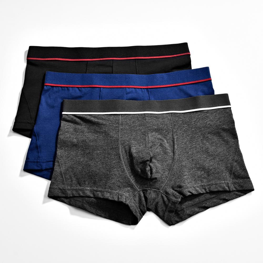 Calzoncillos bóxer de hombre, calzoncillos de algodón para hombre, calzoncillos cómodos transpirables para hombre, ropa interior, tronco