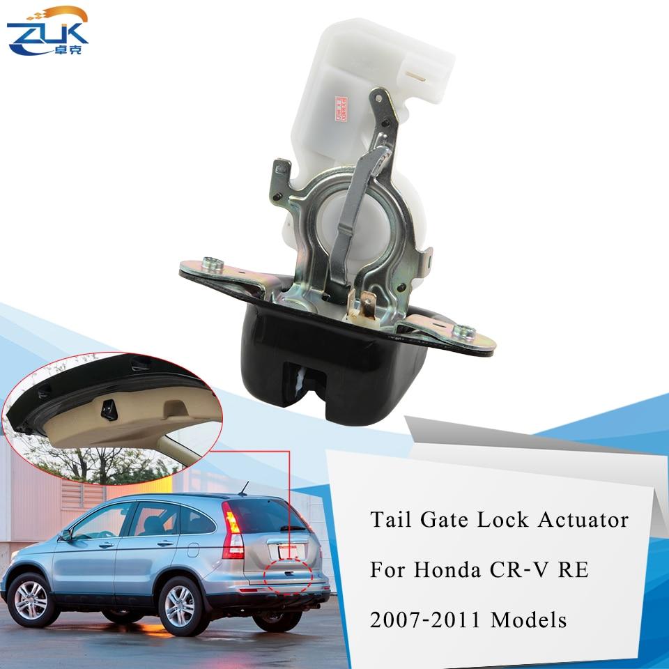 ZUK для CR-V RE 2007-2011 задняя дверь багажника крышка багажника багажная защелка замок привод для HONDA для Acura MDX