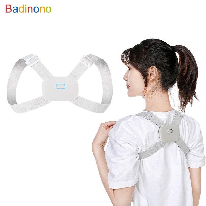 Оригинальный Интеллектуальный Корректор осанки и тренажер осанки для спины преимущества для здоровья и укрепления доверия