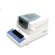 Probador de humedad de alimentos relleno de alimentos medidor de humedad halógeno partícula de plástico medidor de humedad gránulos equipo de medición de humedad