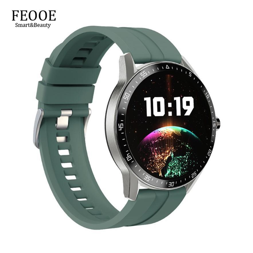 FEOOE 1.28 Inch Smart Watch Wristband Women Waterproof Blood Pressure Heart Rate Fitness Tracker Sport Smartband Bracelets YD