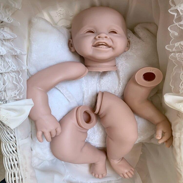 Kit de muñeco realista NPK de 28 pulgadas hecho a mano, suministro de muñeco reborn para niño niña, juguete DIY suave, tacto suave, kit de vinilo, piezas para muñecas