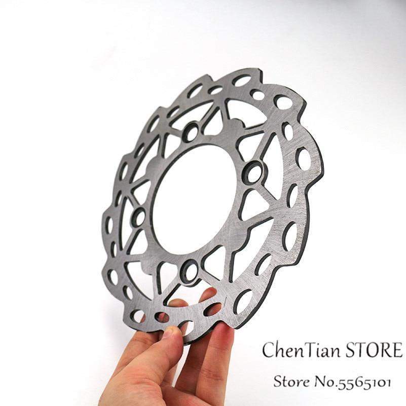 Rotor de disco de freno trasero de motocicleta con 4 agujeros 190mm para motocicleta China 50cc-160cc Dirt Pit Bike CRF50 SSR