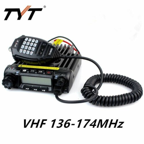 TYT TH-9000D VHF 136-174MHz 200CH 60W coche camión móvil dos vías Radio transceptor