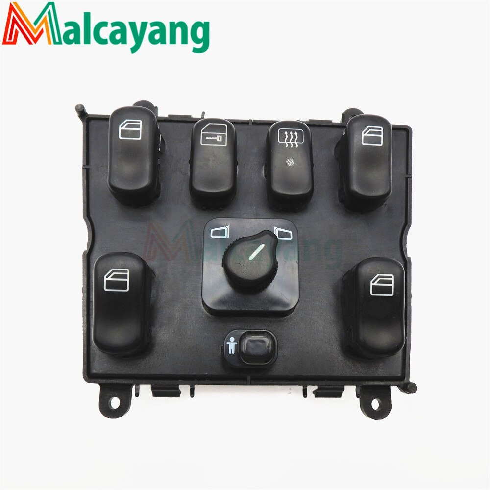 Interruptor de ventanilla eléctrica para mercedes ml w163 ml320 1998-2002 1998 1999