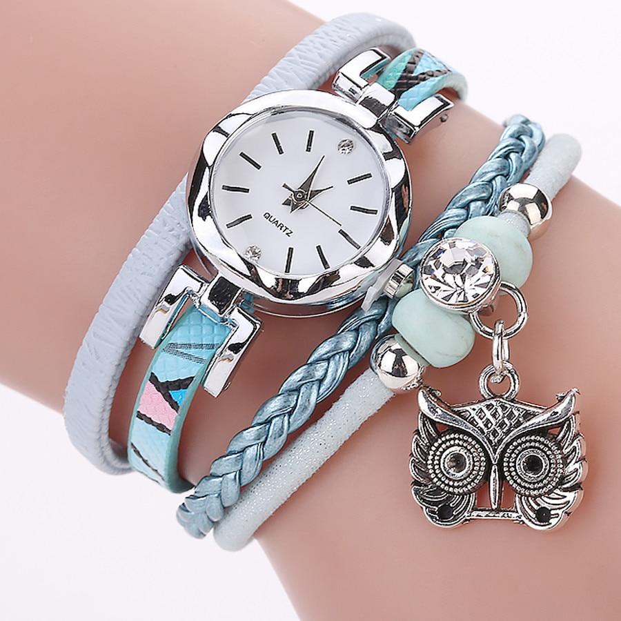 Cute Jewelry watch women Fashion Vintage Bracelets Watches Cute Metal Pendant watch for women Casual